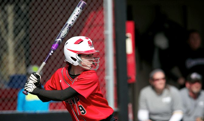 Megan Miller hit for a cycle in Saint Martin's win Saturday at Ellensburg,