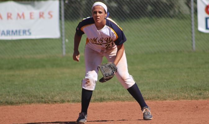 MSUB second baseman Aubrey Conceicao has been involved with SAAC in all four of her college years.