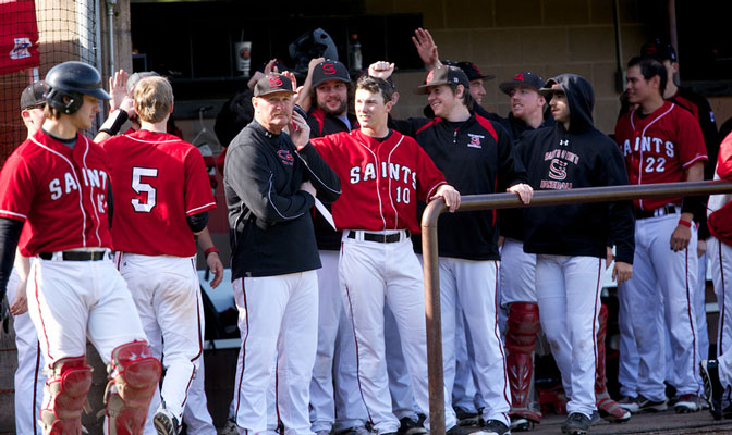 SMU will face host Western Oregon in its first game of the 2014 GNAC Baseball Championships on Thursday.