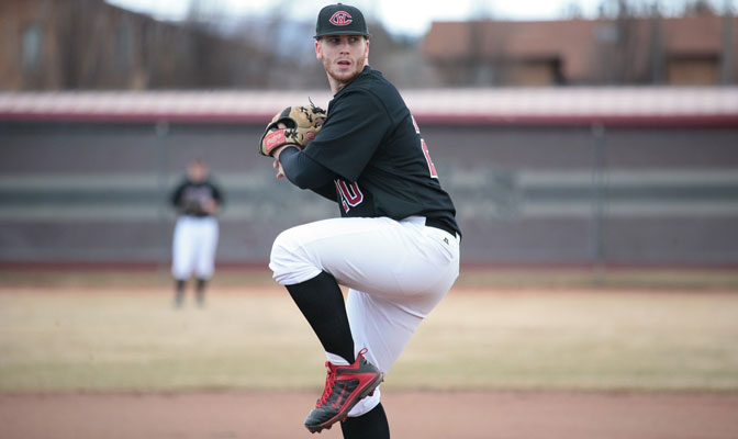 Brandon Williams, last year's GNAC Pitcher of the Year, was nearly perfect Saturday.