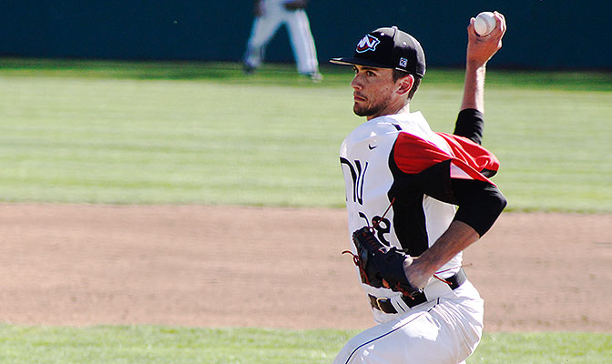 In his seven-inning no-hitter of Azusa Pacific on Friday, Colton Loomis allowed four walks and struck out seven.