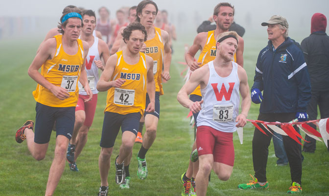 Dave Coppock (far right) and MSUB will host the NCAA West Regionals on Saturday.