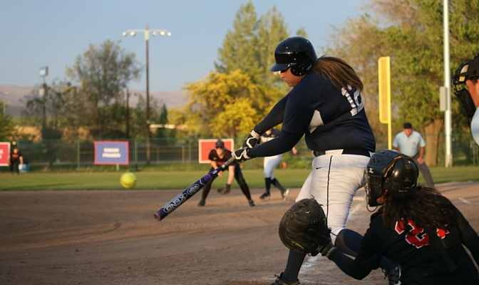 Jordan Walley is third all-time in Western Washington softball history with 16 home runs.