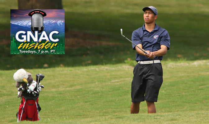 Crisologo was the GNAC Freshman of the Year last season and currently leads the conference with an average round score of 71.78.