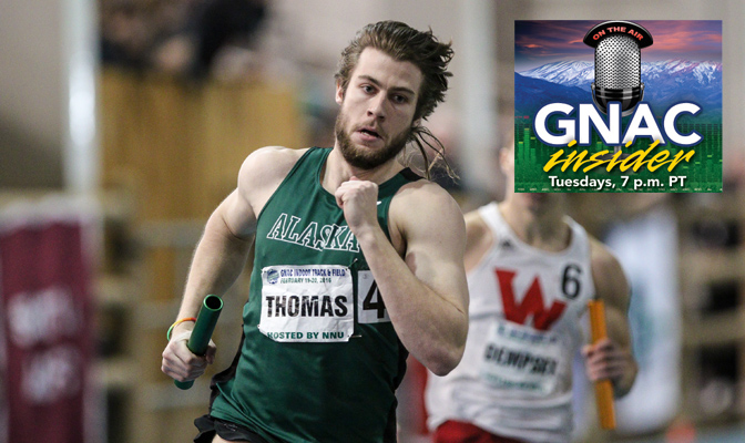 Alaska Anchorage decathlete Cody Thomas will compete in the GNAC Multi-Event Championships next week on May 2 & 3.