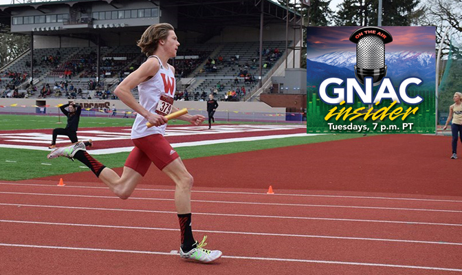 David Ribich owns an automatic qualifying mark to nationals in the men's 1,500 meters and is the reigning champion at the GNAC Championships.