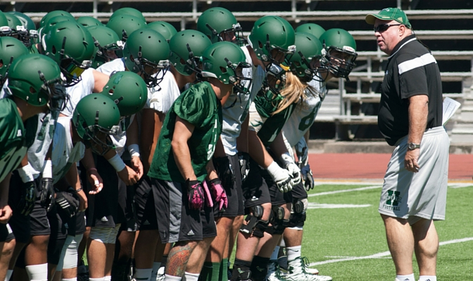 Head coach Rob Smith is in his eighth year with Humboldt State, leading them to a 4-0 record to start 2015.