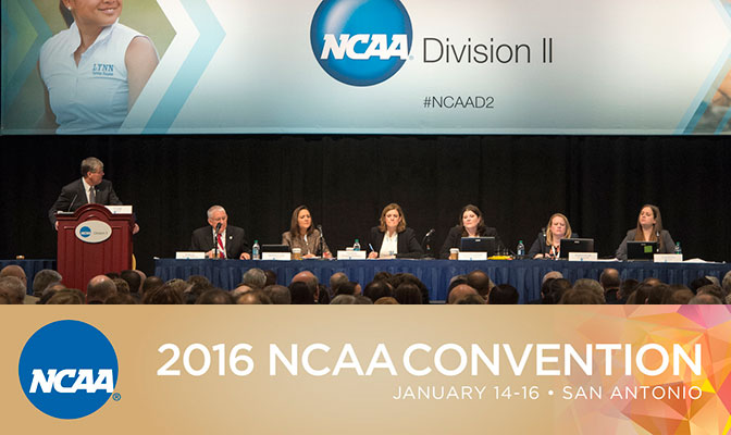 The 2016 NCAA Convention takes places this week in San Antonio.