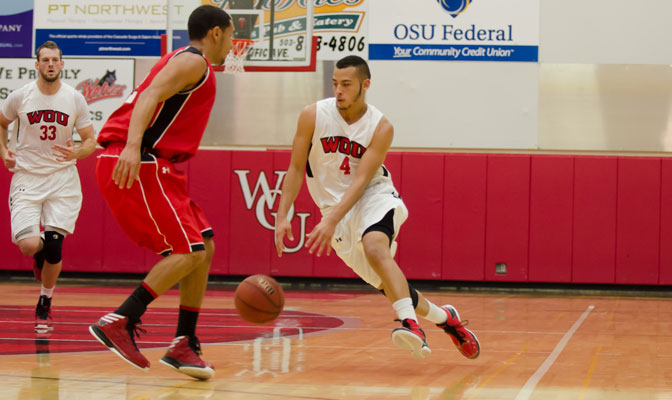 Alexander (4) had  eight steals Thursday against Northwest Nazarene matching the GNAC record for a conference game.