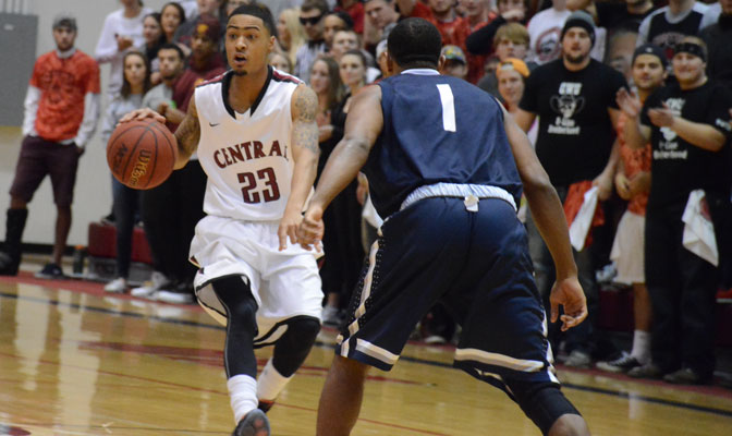 At the halfway point of the GNAC season, Dom Williams and the CWU Wildcats are in the thick of a close tournament race.