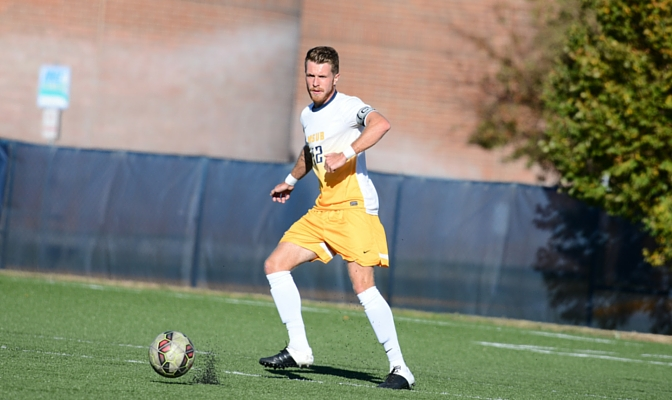 Cameron Lee is a captain for the MSUB men's soccer team and was named Honorable Mention All-GNAC this year.