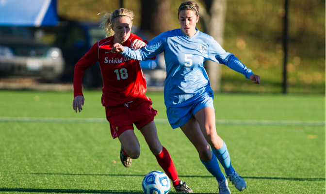 Miles led the Vikings in goals for the third-straight year with eight, heading into her senior season.