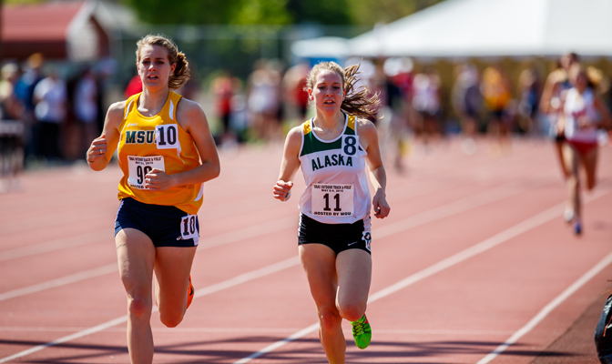 Senior Jessica Pahkala will compete at the NCAA Division II Outdoor Track & Field Championships in the 1,500 meters May 26-28.