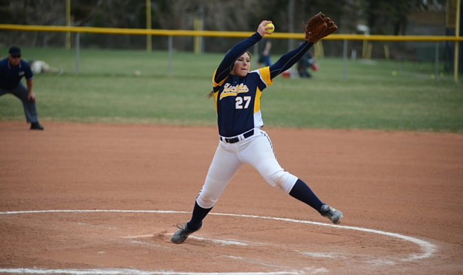 Amanda Roark is a senior pitcher for the Montana State softball team and is the secretary for the MSUB SAAC.