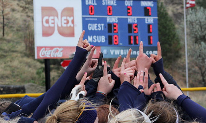The GNAC championship softball tournament will be hosted by defending champion Montana State Billings May 2-4.