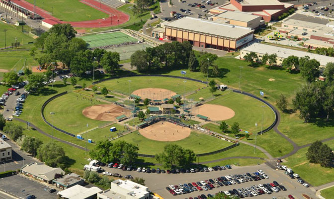 Columbia Playfield, the site of the 2014 GNAC Softball Championship spans 28.9 acres and is located in Richland, Wash.