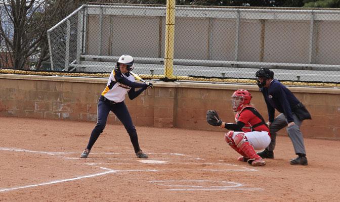 Emily Osborn had four home runs as MSUB swept a three-game series with  Simon Fraser.