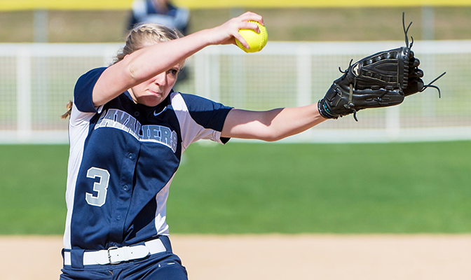 Concordia' Mattie Boucher went 2-1 for the Cavaliers in their final six games, amassing a 0.71 earned run average and struck out 18 in 19.2 innings.