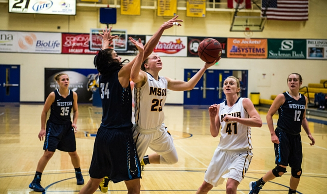 The Yellowjackets defeated two of the GNAC's top teams in Western Washington and Simon Fraser, advancing their winning streak to seven games.