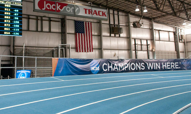 Jacksons Indoor Complex in Nampa is one of the premier venues of its kind in the U.S. The GNAC will conduct is indoor championships at the facility for the 10th consecutive year this weekend.