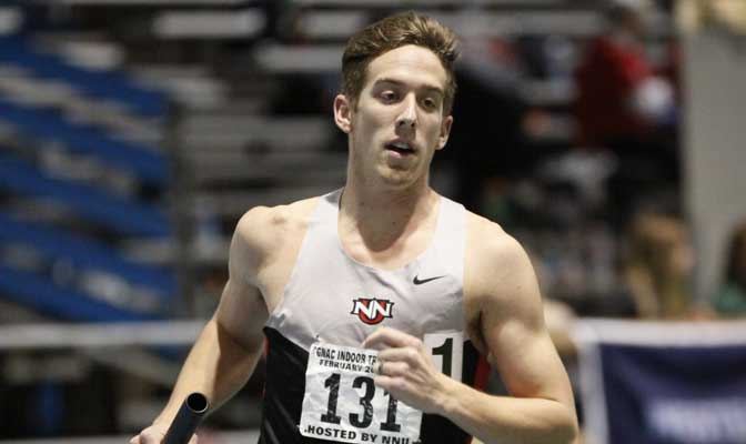 NNU's Michael Gordon will be running in the GNAC Championships this weekend in Monmouth, Ore.