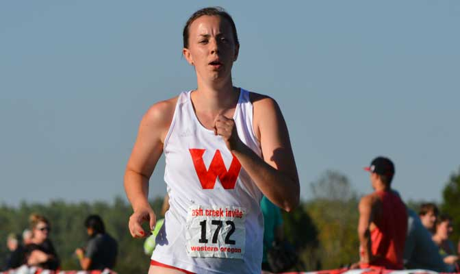 Anderson has been involved with SAAC in all four of her years at Western Oregon.