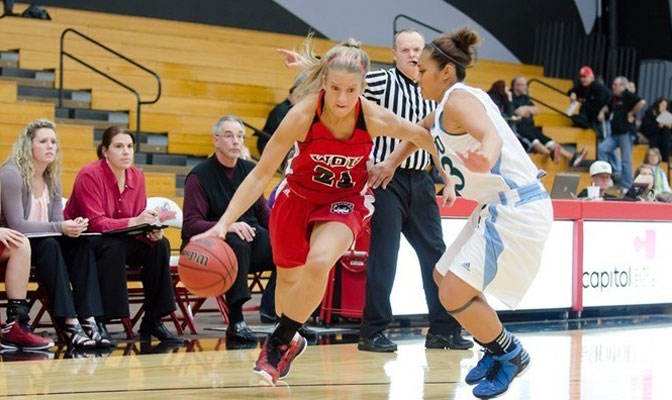 Melissa Fowler led Western Oregon with 16 points and seven rebounds in a loss Thursday at Northwest Nazarene.