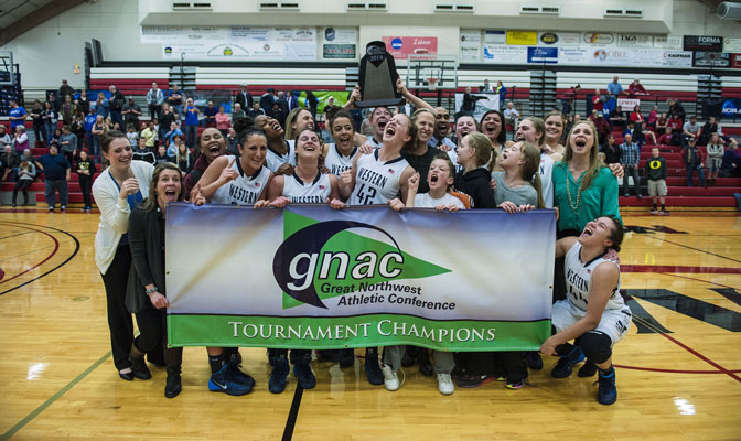 Western Washington defeated Simon Fraser in the GNAC Women's Basketball Championships title game for the second year in a row.