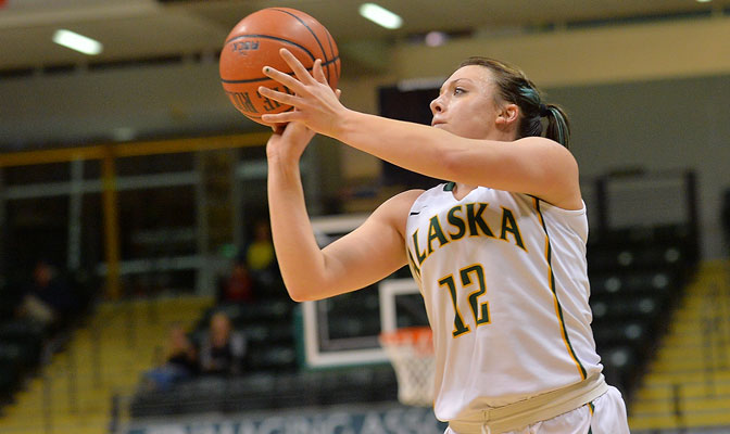 Jenna Buchanan was named the Most Outstanding Player at the Seawolf Hoops Classic Friday and Saturday.