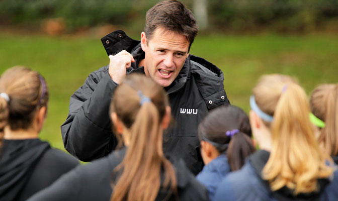 Travis Connell led Western Washington to the women's soccer title, the first of eight won by the Vikings during the 2012-13 season.