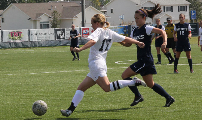 Larsen has started every game for MSUB over the past four years (MSUB Photo).