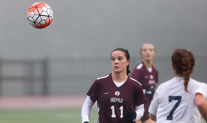 Shayla Page was a three-time GNAC All-Academic selection and will enroll in SPU's nursing school in the fall.