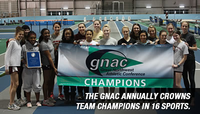 The GNAC annually crowns team champions in 16 sports