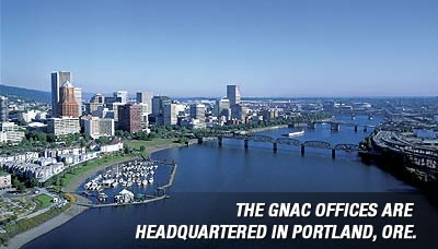 The GNAC offices are headquartered in Portland, Ore.