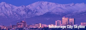 Anchorage City Skyline
