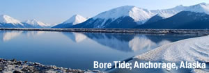 Bore Tide; Anchorage, Alaska