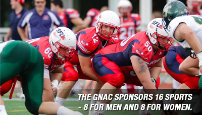 The GNAC sponsors 16 sports – eight for men and eight for women