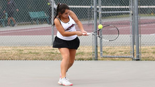 Hernandez named to MSC Women's Tennis Champions of Character team