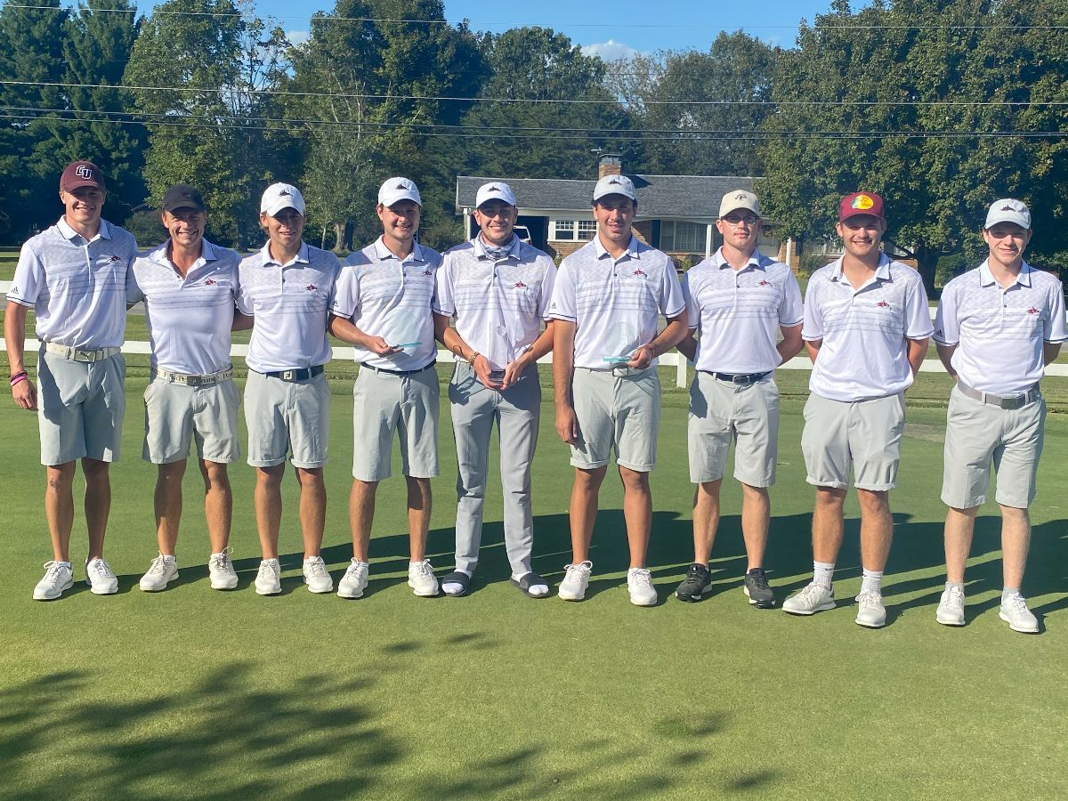 Cumberland Men's Golf wins Riley Moore Invitational; Walker takes First Place