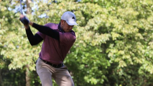CU in a tie for second after round one; Gaddes leads the tournament