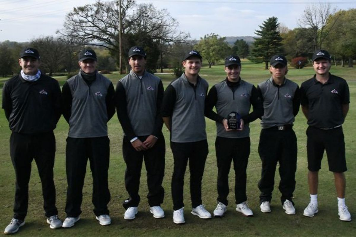 Cumberland Men's Golf Finishes in Second Place at the MSC Fall Preview