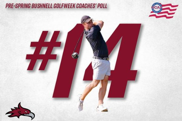 Men's Golf Ranked No. 14 in Pre-Spring Bushnell Golfweek Coaches' Poll