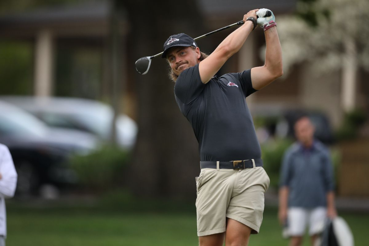 Men's Golf ties for first in MSC Championship, but finishes second due to tiebreaker rules