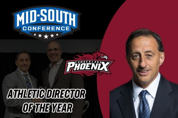 Pavan named Mid-South Conference Athletic Director of the Year