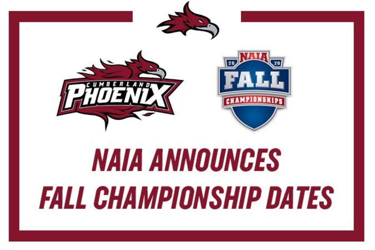 NAIA Announces Fall Championship Dates