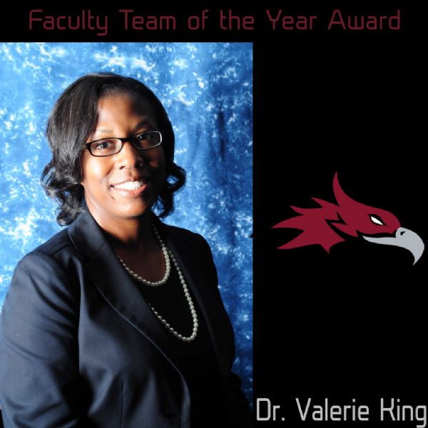 Dr. Valerie King Earns Faculty Team of the Year Award