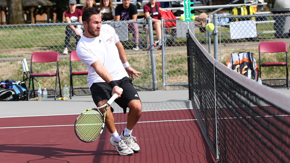Men's tennis registers 7-2 win over Indiana Tech