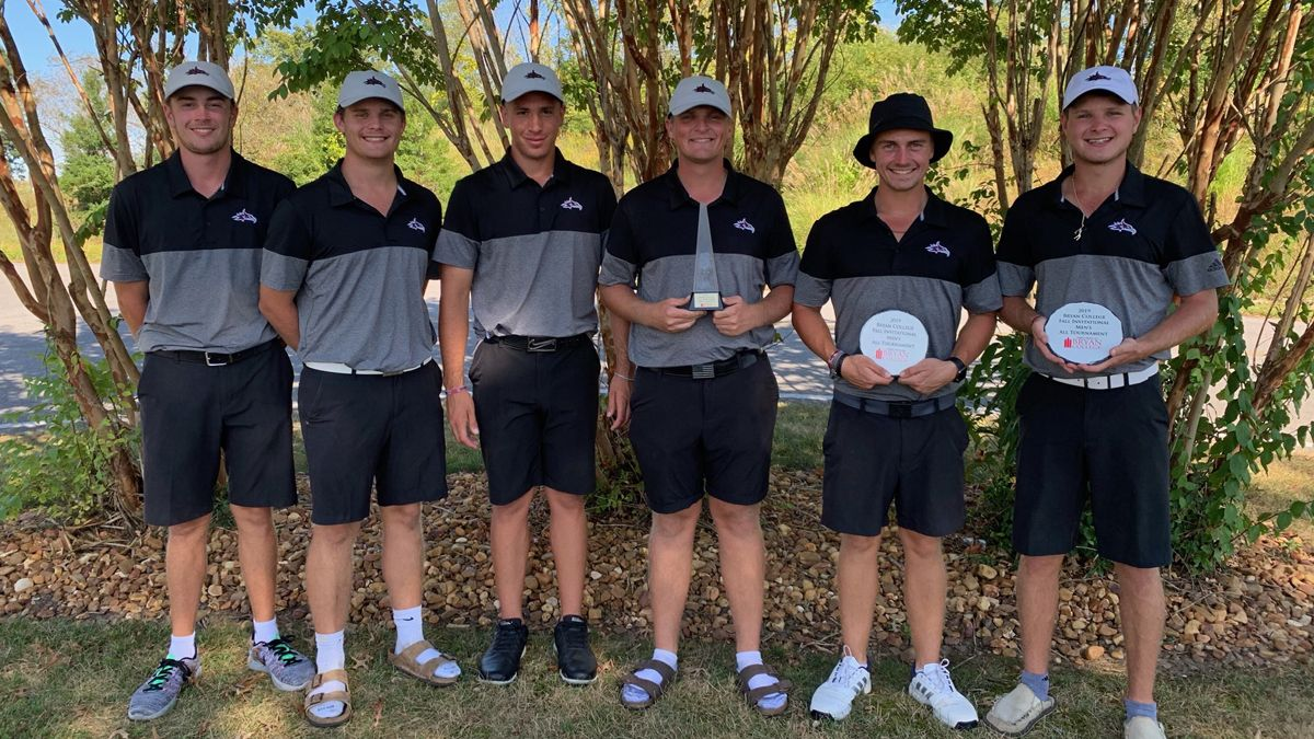 Men's Golf wins Bryan College Invitational