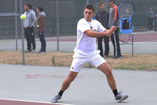 Aleksandar Milosevic named to MSC Men's Tennis Champions of Character Team