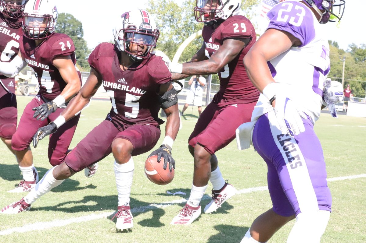 Defense Forces Three Turnovers to help push CU past Eagles